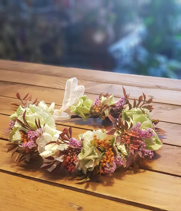 Flower Shop diadema flor preservada