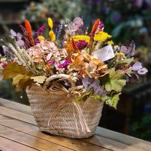 Capazo de Flores