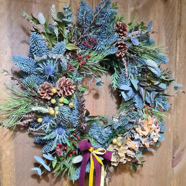 Corona de Navidad Bosque