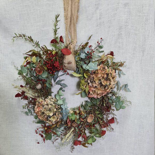 Corona de Navidad Edén