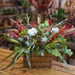 Centro de Flores Caja Navidad