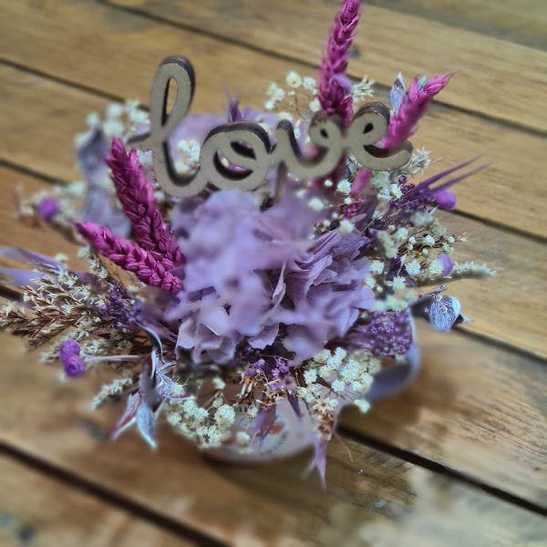 Taza Love Purple