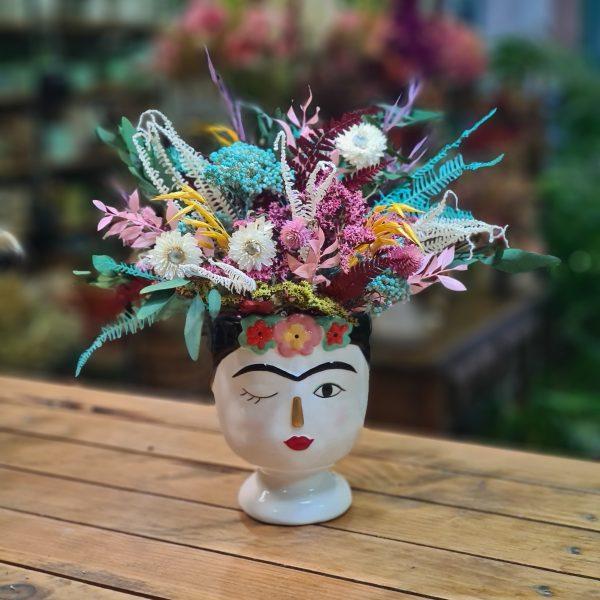 Centro de flores Frida