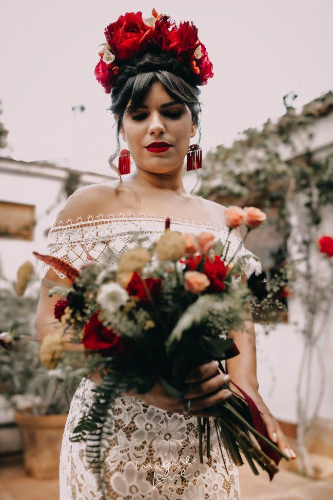 Editorial inspirado en Frida Khalo